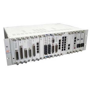 China Multi-service Fiber SDH multiplexer 19 slots PCB + ethernet + E1s service cards on sale