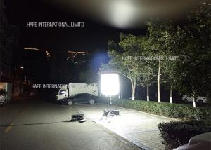 China 400 W Industrial Led Construction Job Site Lighting 360 Degree Glare Free Tripod Telescopic Stand on sale