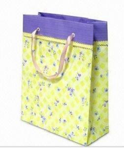 China paper shopping bag xmas paper bag christmas gift paper bag fashion paper bag on sale