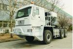 grande chassi de alta qualidade do trator do transporte 6X6 para o deserto