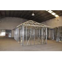 Prefab Disaster Light Steel Frame Houses , Light Weight Steel Framed Homes