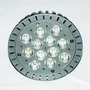 China 12 Watt ra >90 GU10 / Par38 par led spotlight , LED ceiling light  , PC + Aluminum on sale