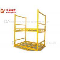Metal Logistic Stacking Rack system in Assembly Workshop