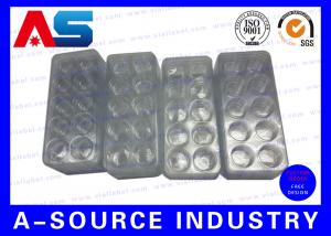 China Medical Disposable Vial Plastic Pharmaceutical Blister Packaging For 10 3ml Vials Box on sale