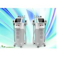 China 10.4 inch screen 1- 50J/cm2 RF energy  AC220V±10% cool tech slimming shape cellulite removal cryolipolysis machine price on sale