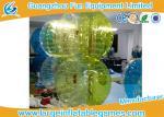 Красочный 1.5м футбол спорт надувной бампер мяч, пузырь футбольный мяч с насосом