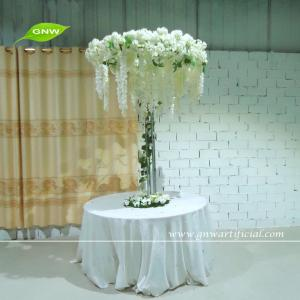 China GNW CTR1503-3 Wedding Stage Decoration Life size Silk Wisteria Blossom Artificial Tree Centerpiece on sale