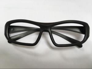 China Disposable Cinema 3D Glasses  Linear Polarized Black ABS Plastic Frame on sale