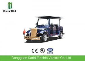 China CE Approved Tourist Electric Vintage Cars , Electric Convertible Car with Eight Seats on sale