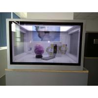 China Custom Size Transparent LCD Showcase For Advertising Aluminum Extrusions Frame on sale