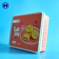 China Anti - Counterfeiting Plastic Cupcake Boxes With Closed Square Cover on sale