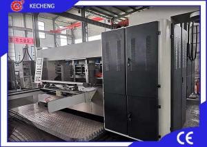 China Carton Box Flexo Printing And Die Cutting Machine on sale