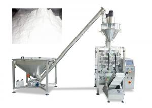 China Small Vertical Packing Machine With Auger Filler For Soap Powder / Wheat Flour on sale