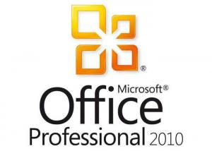 China Microsoft Office Professional Plus 2010 Product Key 1 Year Support OEM Package on sale