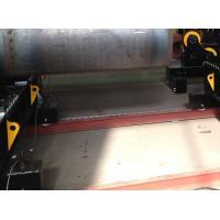machine à cintrer hydraulique de la soudure 60T de rouleau mobile de tuyau pour des chaudières tournant la soudure