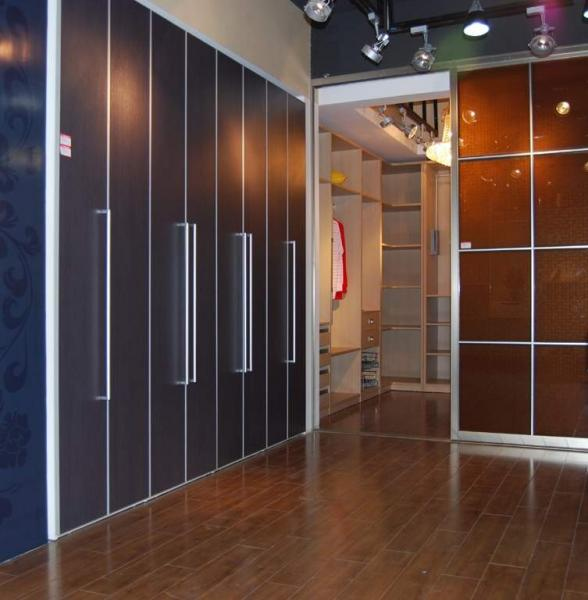Interior Bi Folding Doors For Wardrobe Custom Aluminum Bi Fold