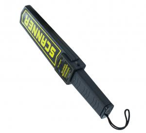 China Rechargeable Battery Guard Security Portable Metal Detector Wand Antiskid Surface on sale