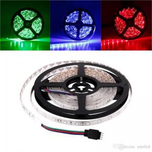 China Waterproof/Non-Waterproof 5M/roll 3528 300LEDs SMD LED Strip Light Lamp DC 12V on sale