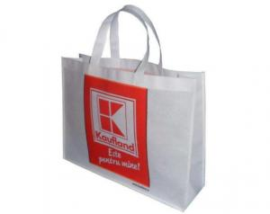 China Premium Non Woven Shopping Bag , Non Woven Fabric Shopping Bags For Supermarket on sale