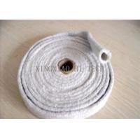 China High Temperature Ceramic Fiber Heat Insulation Sleeve / Sleeving Fire Retardant on sale