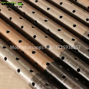 China factory supply of Carbon steel perforated pipe for