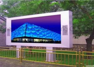 China High Brightness Advertising SMD 8mm Outdoor LED Display Screen Full Color Video Display Epistar Chip on sale