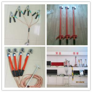 China Earth Rod&Earthing Rod&Earth set,Shorting circuit &earthing systems on sale