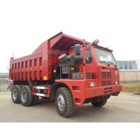 70 Tons Mining King 6x4 Tipper Truck10 Wheeler With Front Lifting System