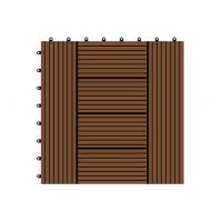 China WX02 China manufacturer wpc price composite decking tiles/wpc interlocking diy tiles on sale