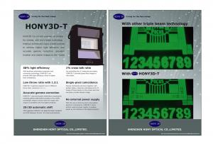 China 3D Cinema Systems Circular Polarized Passive Modulator 30% Light Efficiency For Cinema Used on sale