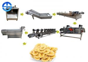 China Fully Automatic Banana Chips Production Line Plantain Chips Production Line on sale