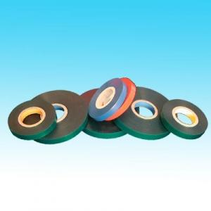 China Sinoy Red Tie Tapes For Gardening / PE Plastic Packaging Bags Embossing on sale