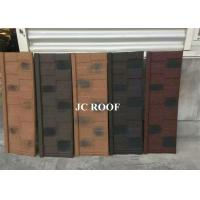 Aluminum-zinc Material and Bent Tiles Type shingle stone coated steel roof sheet