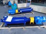 Horizontal multsitage water pump