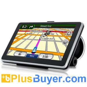 China Handheld 6 Inch Touchscreen GPS Navigator with Bluetooth and FM Transmitter on sale