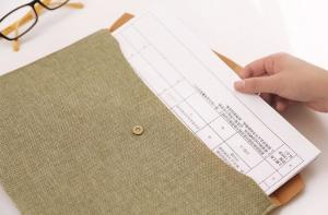 China canvas envelope bag,Fashion shoulder college student inner pocket 100% organic cotton canvas expandable file tote net sh on sale