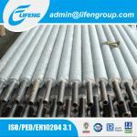 L aluminium finned tube for air cooler,fin tube bundle