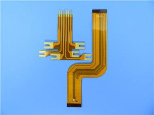 China FPC Circuit Board Made On PET Material with Immersion Gold FPC PCBA Fabrication on sale