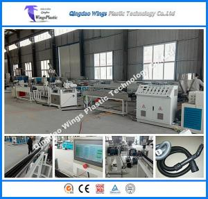 China Plastic EVA Vacuum Cleaner Hose Pipe Production Line / Extruder Machine / Extrusion Line on sale