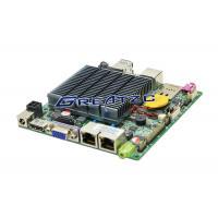 Nano ITX 1080p HDMI LVDS Fanless Motherboard CPU J1900 Quad Core