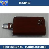 China Brand Deluxe Mazda Ring Remote Leather Key Holder For Multiple Keys on sale