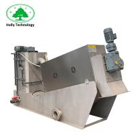 Poultry Sludge Press Machine , Dung Dehydrator Machine Long Life Time