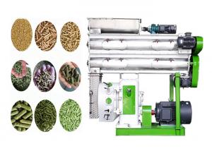 China Automatic Animal Feed Processing Equipment Poultry Feed Pellet Making Machine on sale