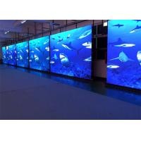 Ultra Slim P6.25 Sports Led Display , Seamless Combination Curved Led Wall