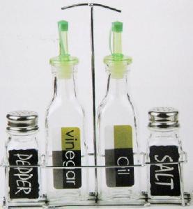 China Glass Oil Bottle / Vinegar Bottle / Spice Jar / Glass Jar (SS1216) on sale
