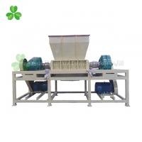 Plastic Bottles Double Shaft Shredder Machine With 26PCS Knives High Output