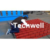 Color Steel Glazed Tile Roll Forming Machine for Metal Tile Roof Wall Cladding