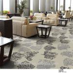 Modern style 7*7*7 axminster gray printed lobby carpet