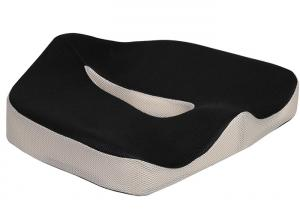 China Office Chair Car Seat Cushion With Strap And Washable Cover For Car Bus Drivers on sale