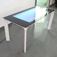 43 Inch Flat Surface Capacitive Touch Table Interactive Coffee Kiosk with LCD display